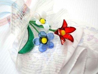 ガラスの花束の画像