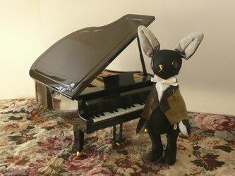 ポストカード [P-16]ピアニスト・エルマーの画像