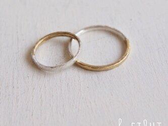 【再販】 Bi-colored Ringの画像
