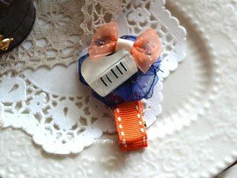 ヘアクリップ『ピアノ』の画像