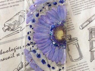 iPhone6押し花の画像