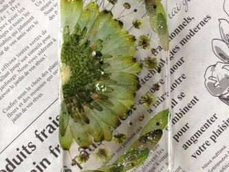iPhone5 押し花の画像