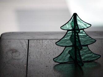 【再販】ステンドグラス クリスマスツリー 2の画像