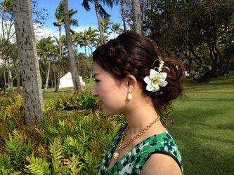 アマゾンリリーL(シングルP)髪飾りの画像