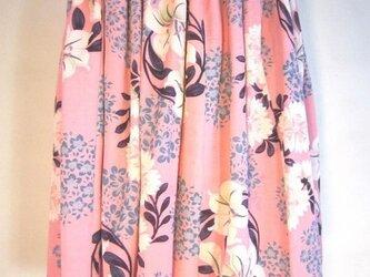 花柄 パウスカート の画像
