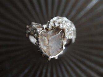 ≪1点物≫サンストーンのリングの画像