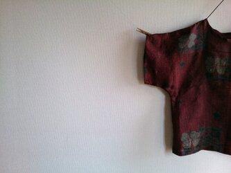 着物リメイク 花柄プルオーバーの画像