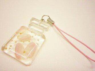 桜貝蝶々 ボトル ストラップの画像