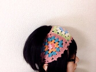 レトロモチーフ☆ヘアバンド Aの画像