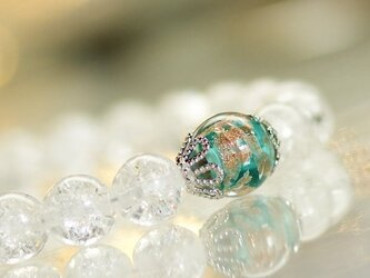 ビーズブレスレット / Snow tiaraの画像