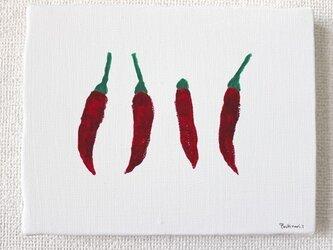 赤い唐辛子の画像