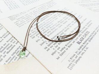 再販ベネチア産ガラスビーズのネックレス N29の画像