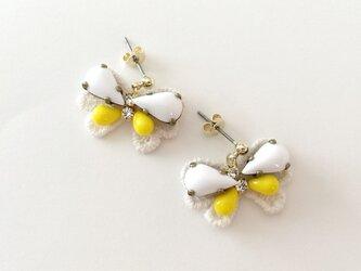 "bijoux butterfly ""white&yellow""の画像"