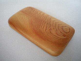 【受注制作】木の名刺入れ(屋久杉)の画像