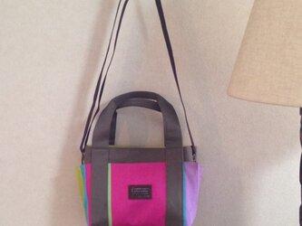 フランスSTOF社バスク柄3wayトートバッグの画像