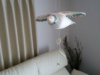 陶の鳥(吊るす飾り)-Cの画像