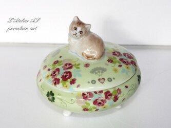 猫の小物入れの画像