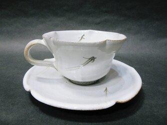 コーヒーカップ(松葉)の画像