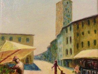 絵画S.ピエリーノ広場(フィレンツェ)の画像