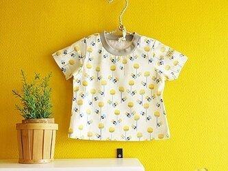 baby Tシャツ:タンポポ(イエロー)の画像