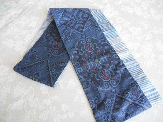 藍大島のスカーフの画像