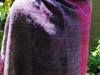 シルク手織ストールSの画像