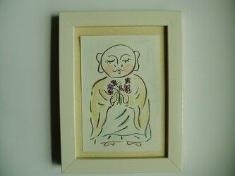 絵画 インテア 額絵 卓上タイプ アートな じZO 花の画像