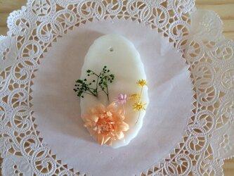 【メッセージ入れ可能】爽やかマリンの香り アロマワックスサシェの画像