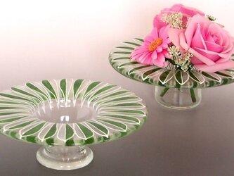 グリーンリーフのプチブーケ花瓶の画像