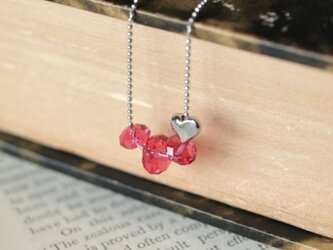 Swarovski のネックレス *ピンクサファイア*の画像