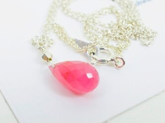 Pink Saphire Necklaceの画像