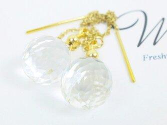 Crystal earringの画像