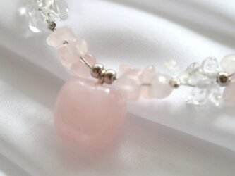 Rose Quortz Braceletの画像