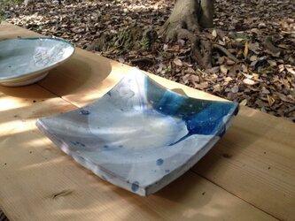 ひかりのわ 角皿 (大)の画像