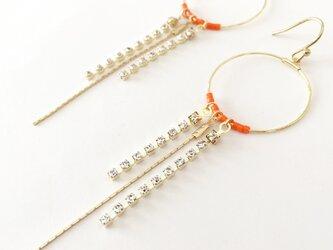 starry line (orange)の画像