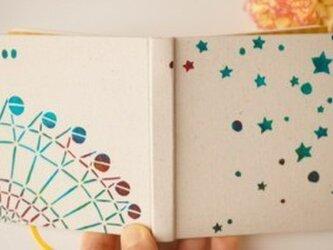100のこと「星空観覧車」 型染め手帳の画像