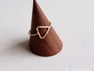 【再販】- Brass - Triangle Ringの画像