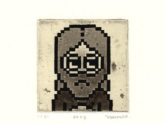 8-bitポートレイト p008の画像
