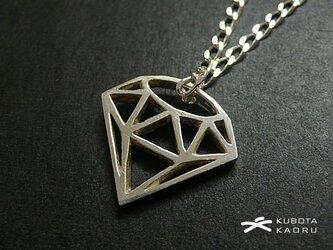 ダイヤ シルエット ペンダント(1点もの)の画像