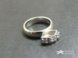 ダイヤ シルエット リング(1点もの)の画像