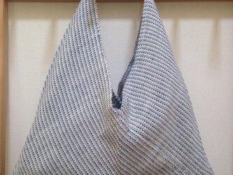 手織り あずま袋の画像