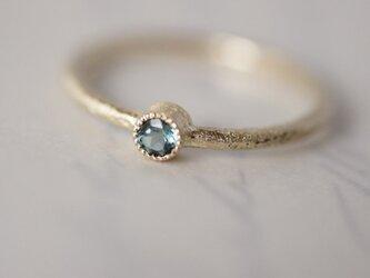 Tourmaline one stone ring {R050K10TM}の画像