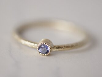 Tanzanite birthstone ring [R050K10TZ]の画像