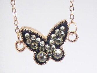 スイーツデコ ブレスレット ブラック蝶 ジョンキルの画像