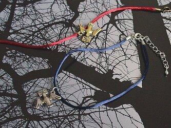 鳩チャームアンクレット(全2色)の画像