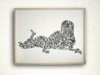Brain child/裸婦・樹の画像