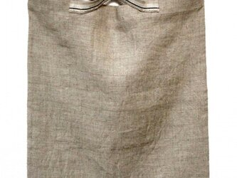 flat bag(しわリネン)の画像