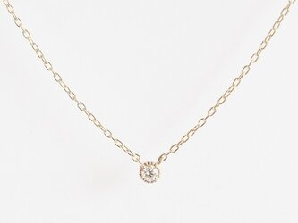 K10 Classical Diamond Necklaceの画像