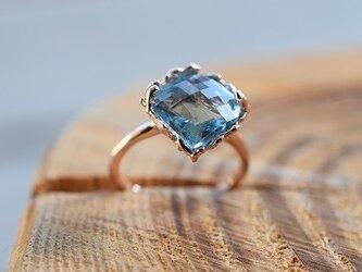 Blue Topaz Ringの画像