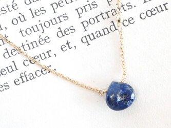 14KGF Lapis Lazuli Necklaceの画像